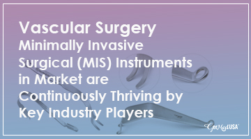 Vascular Surgery Minimally Invasive Surgical (MIS) Instruments in Market are continuously thriving by Key Industry Players