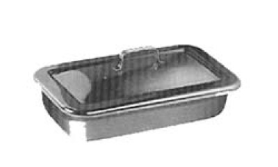 Instrument Tray and Cover, Size 31 x 17.5 x 6.5 cm