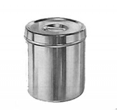 Dressing Jar with Cover,  Size 10.5 x 13.8 cm, 1 1/4 Liter