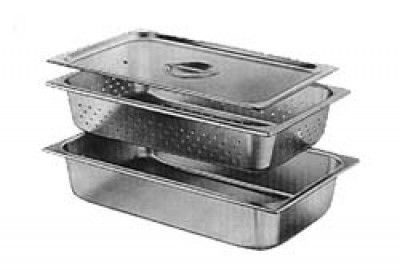 Sterilizing Trays,  Solid Tray and Cover, Size 17.5 x 15.5 x 10.2  cm