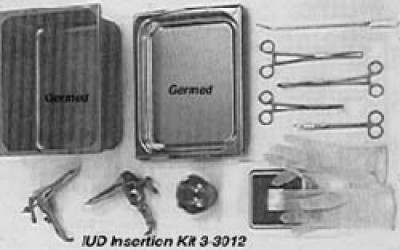 IUD Insertion Kit 3-3012
