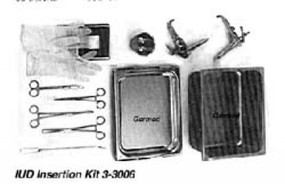 IUD Insertion Kit 3-3006