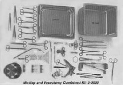 Vasectomy Kit 3-3039