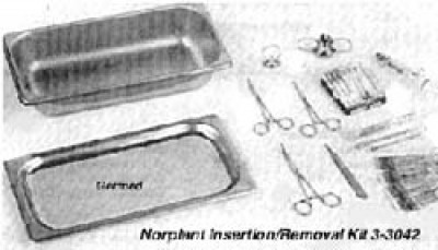 Norplant Insertion/Removal Kit 3-3042