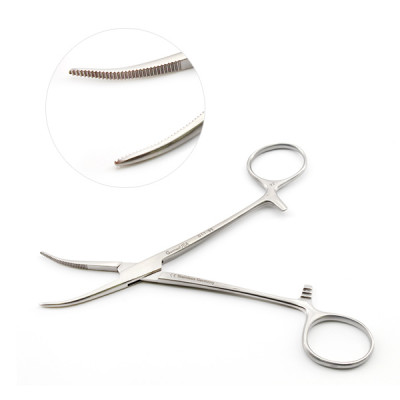 Dandy Forceps 5 1/2 inch Curved Sideways