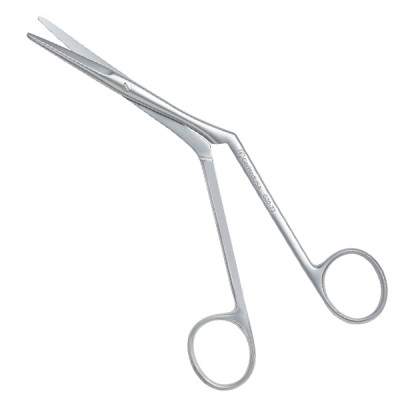 Knight Nasal Scissors Angled On Side  6 3/4 inch